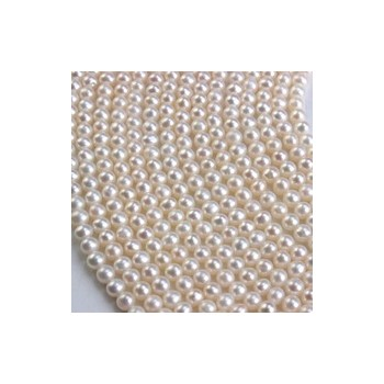 3-4mm天然韩版珍珠项链批发 近